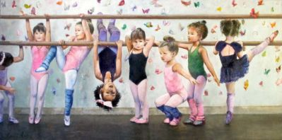 First Day at Ballet Class